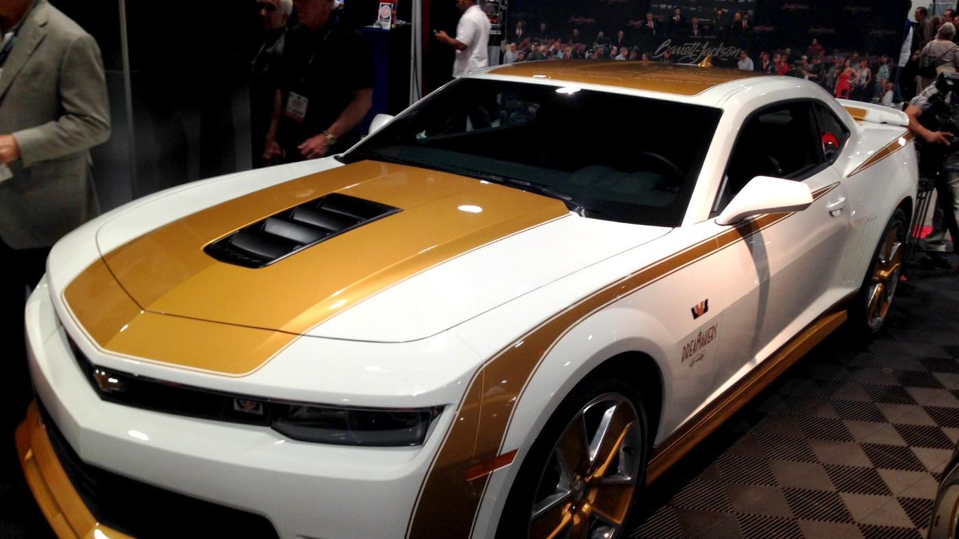 Linda Vaughn LV-1 Chevrolet Camaros, Barrett-Jackson Auctions