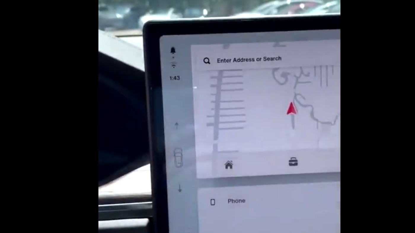 Tesla Model S and X stalkless gear selection