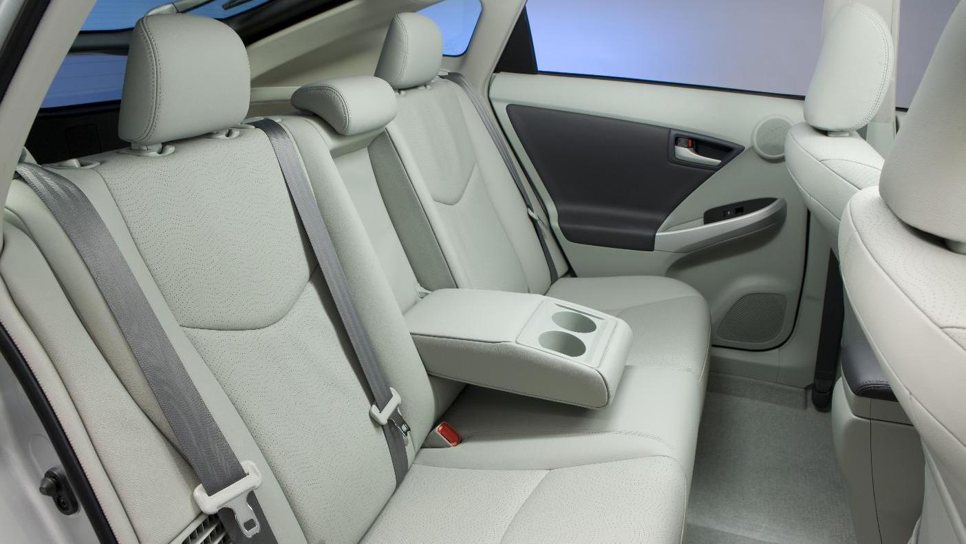 2010 Toyota Prius rear seat