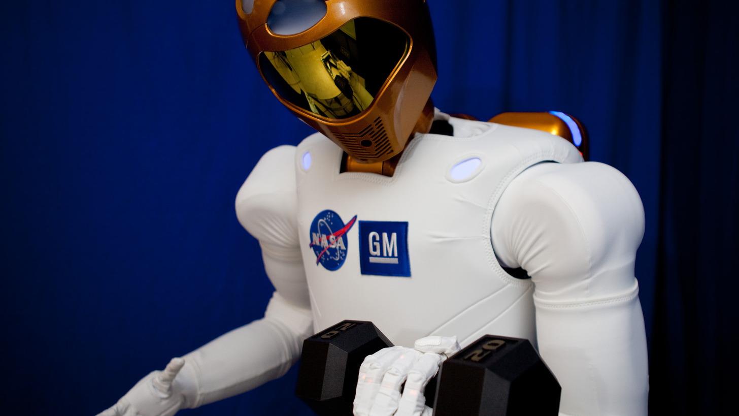GM and NASA's Robonaut 2 droid