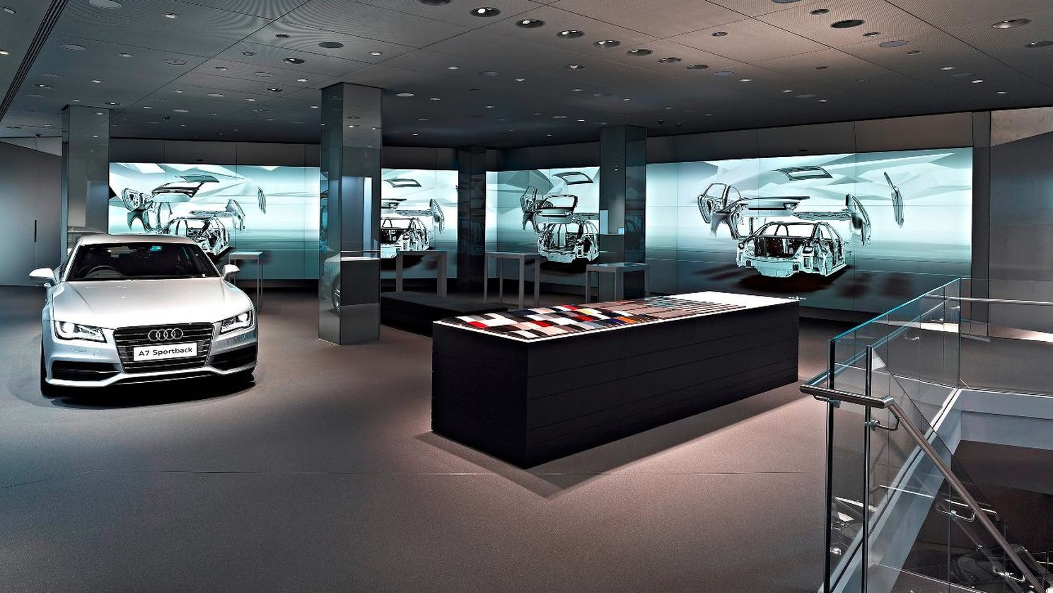 Audi City, opening in Central London