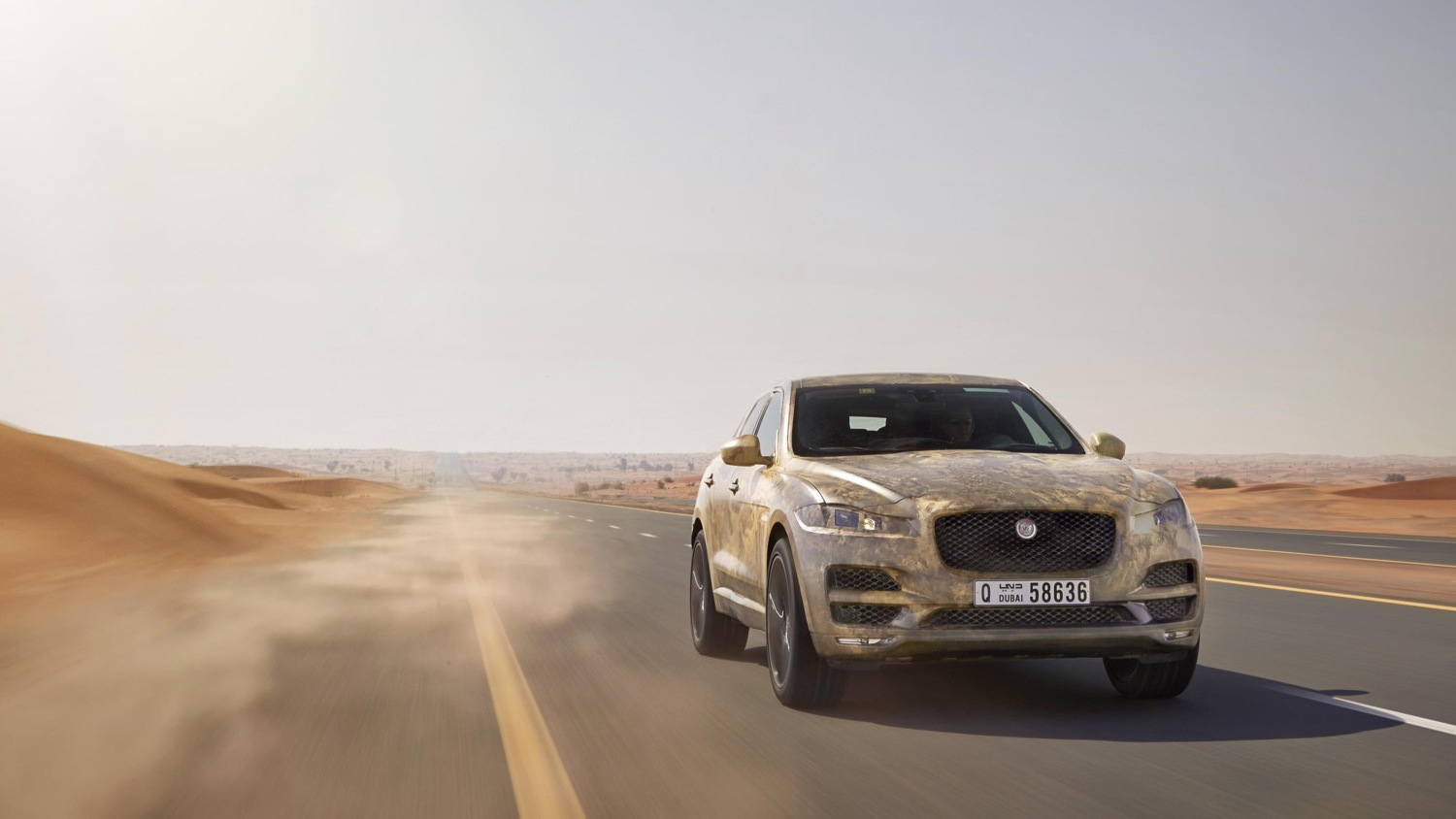 Jaguar F-Pace pre-production prototype