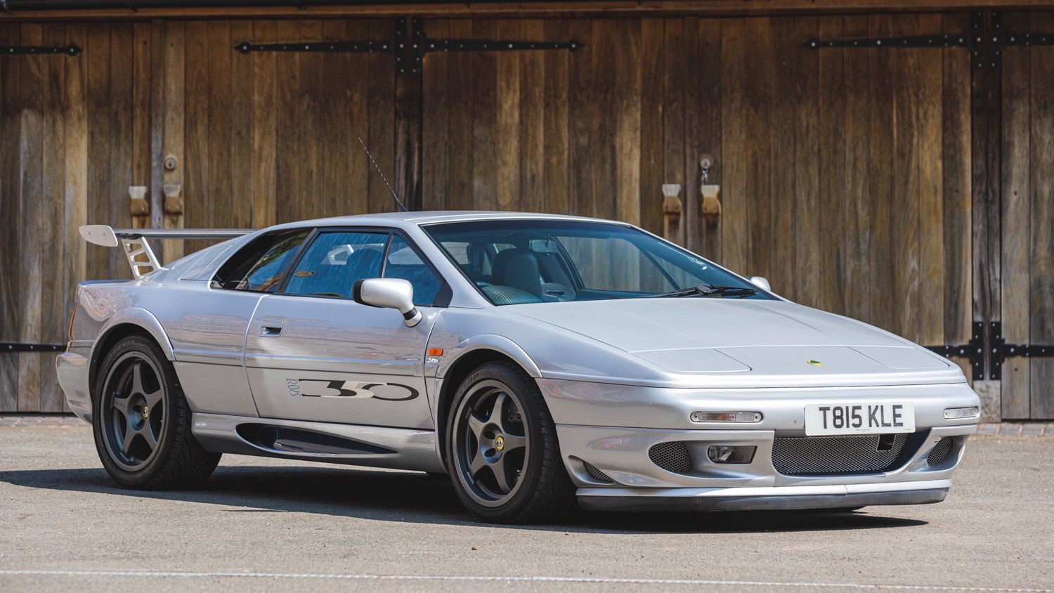 1999 Lotus Esprit owned by Richard Hammond (photo via Silverstone Auctions)