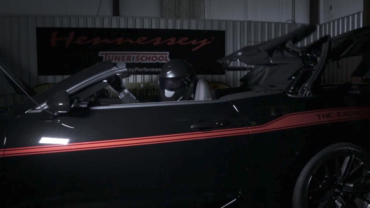 Hennessey Chevrolet Camaro Exorcist Convertible