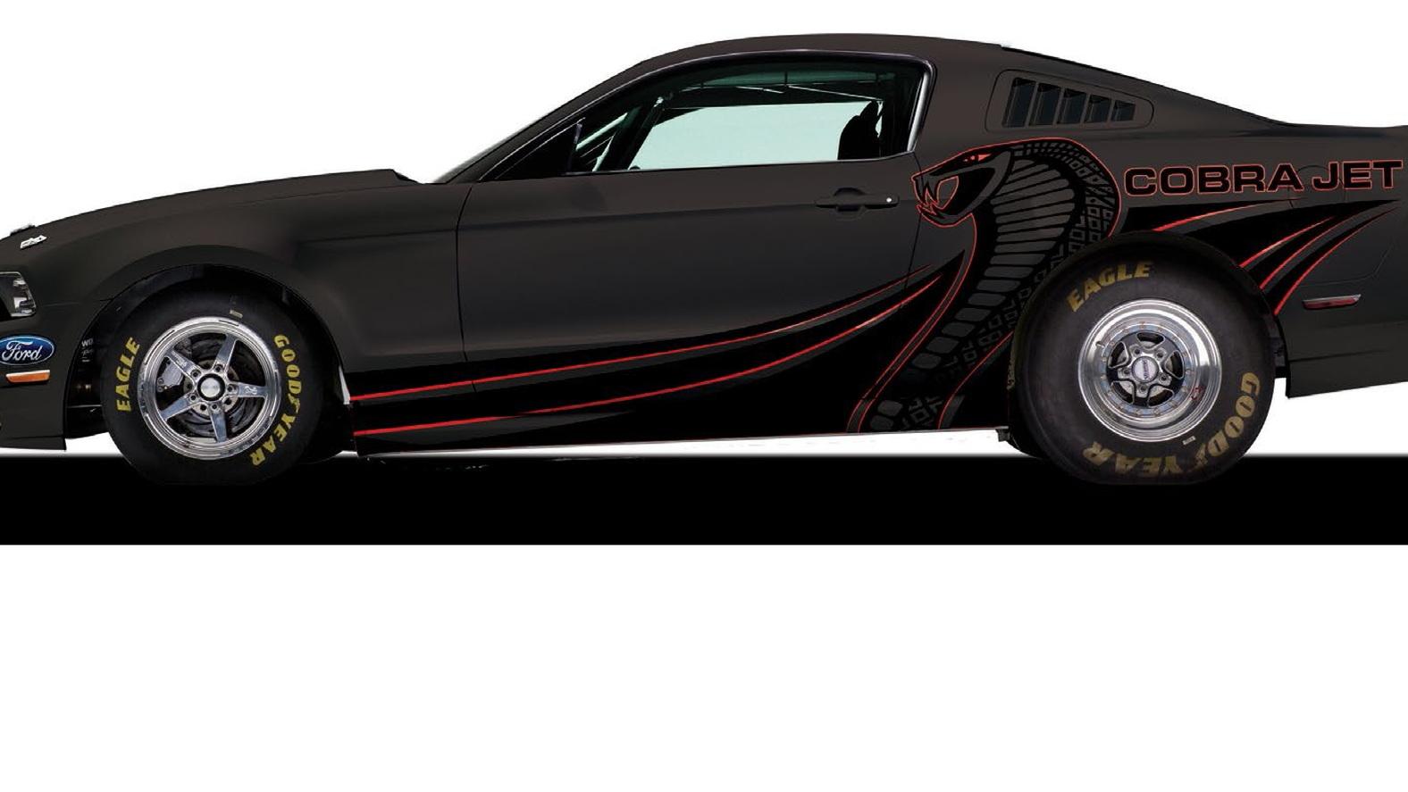 Cobra Jet Mustang >> 2014 Ford Mustang Cobra Jet Details Announced