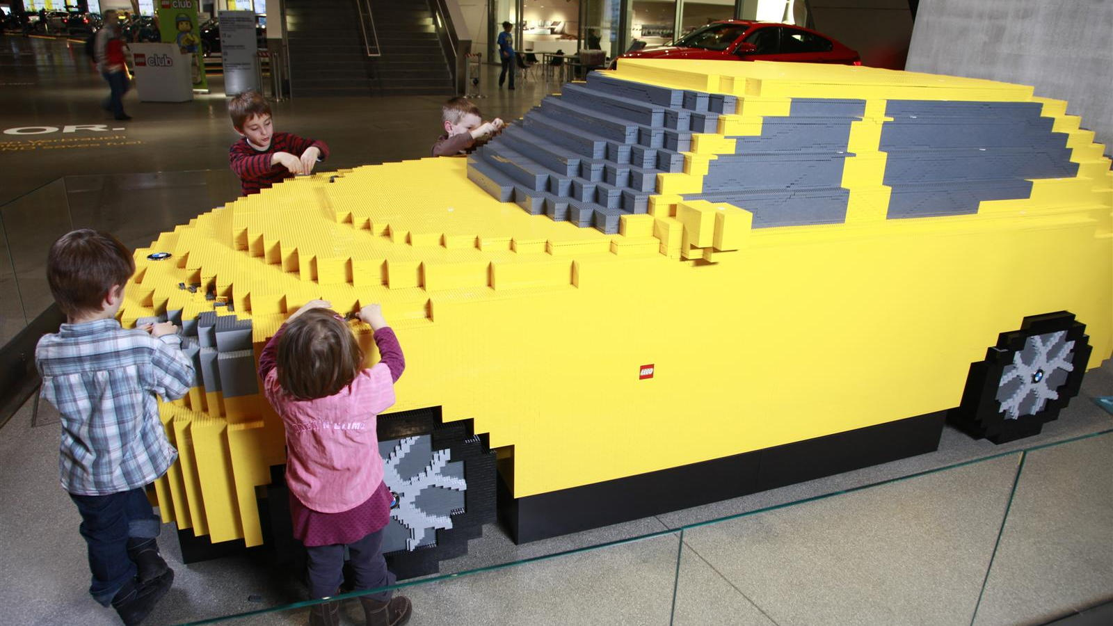 BMW X1 LEGO Sculpture