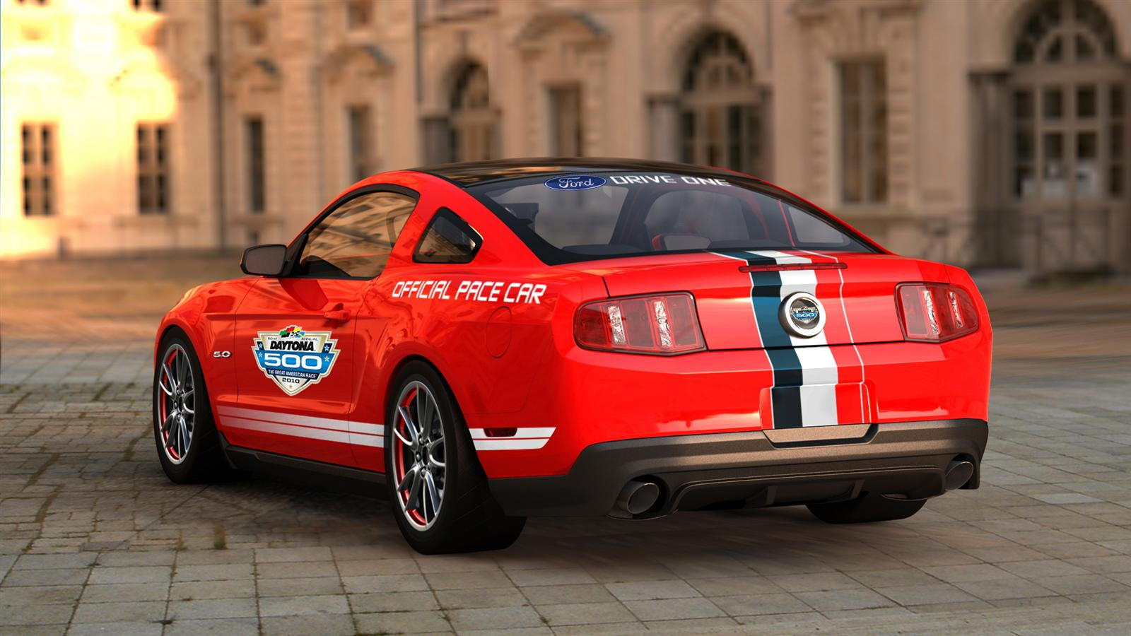 2011 Mustang GT Daytona Pace Car