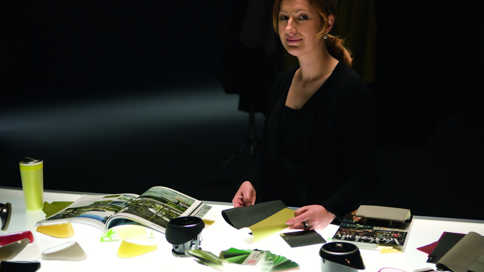 Audi designer Jana Bonkova and the Wasabi Green trim