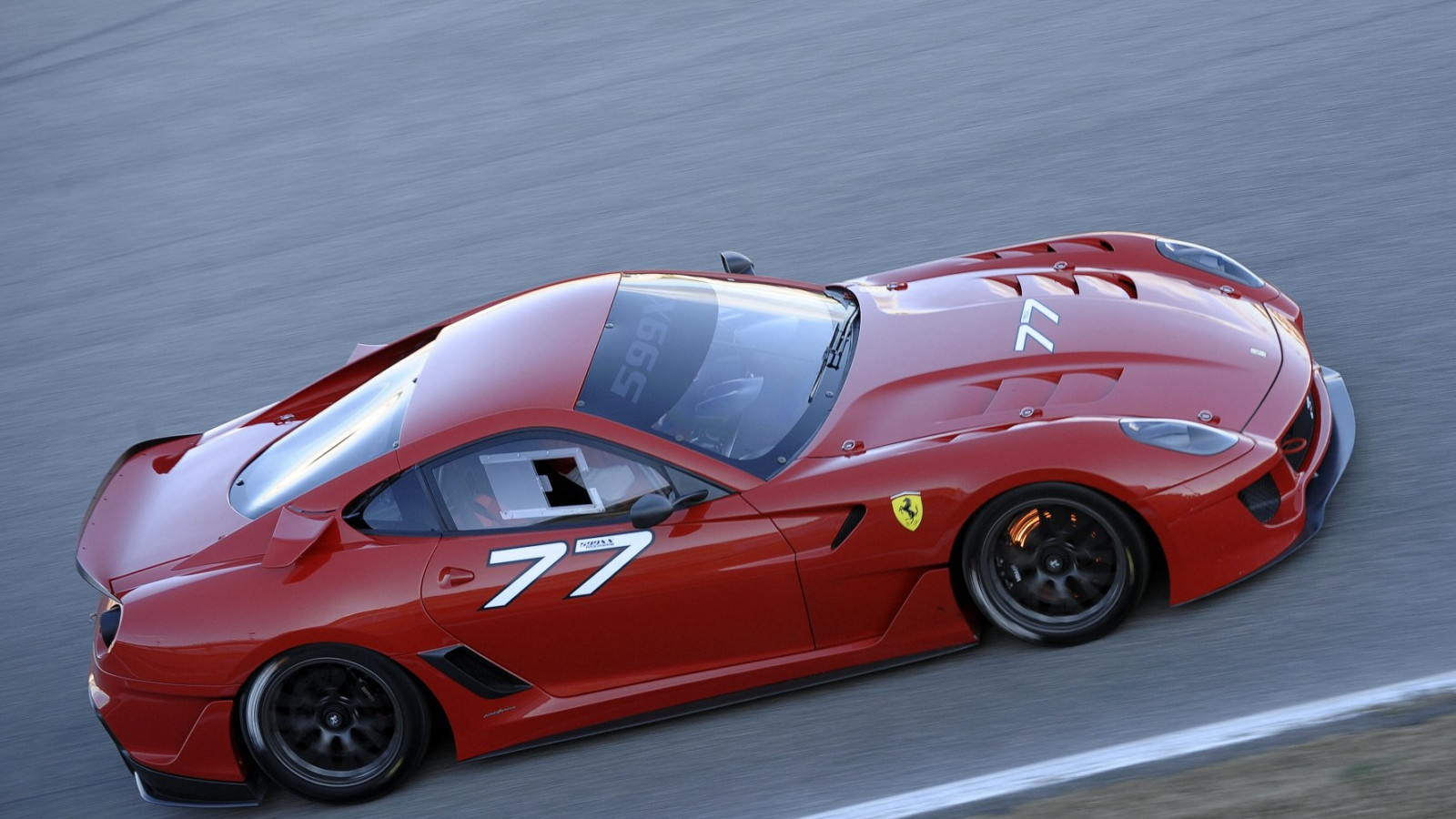 Ferrari 599XX at Valencia