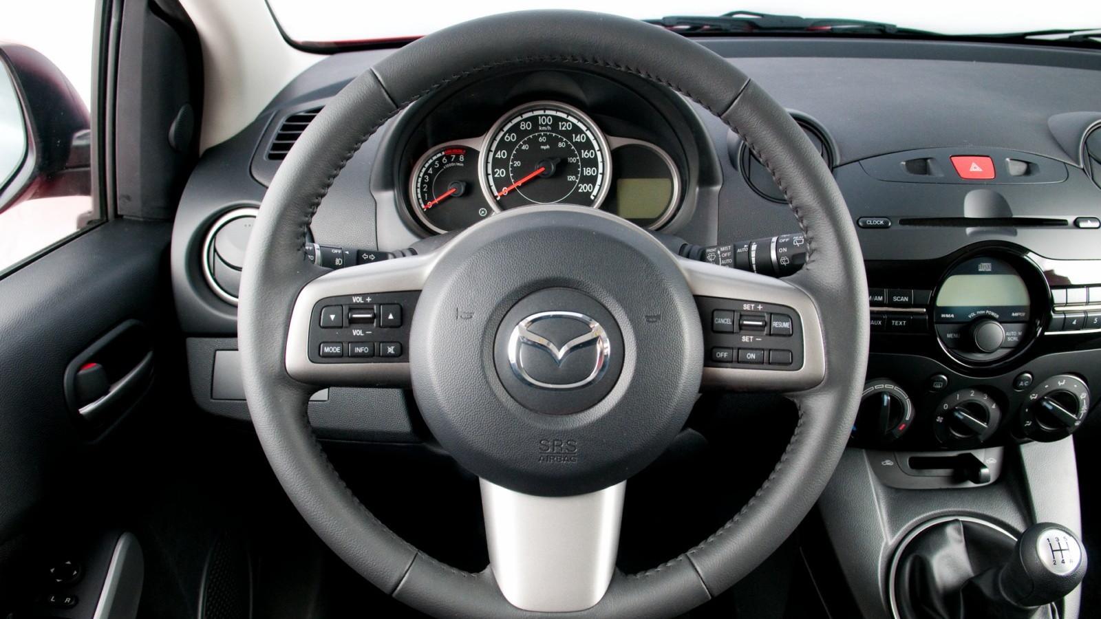2011 Mazda2 interior