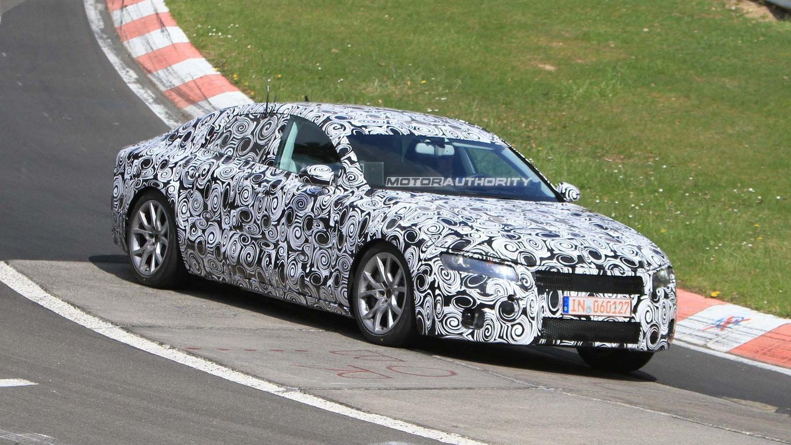 2011 Audi A7 spy shots