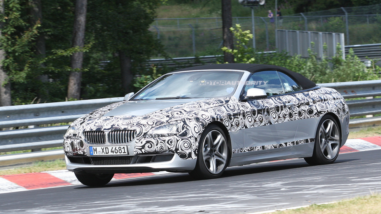 2012 BMW 6-Series Convertible spy shots