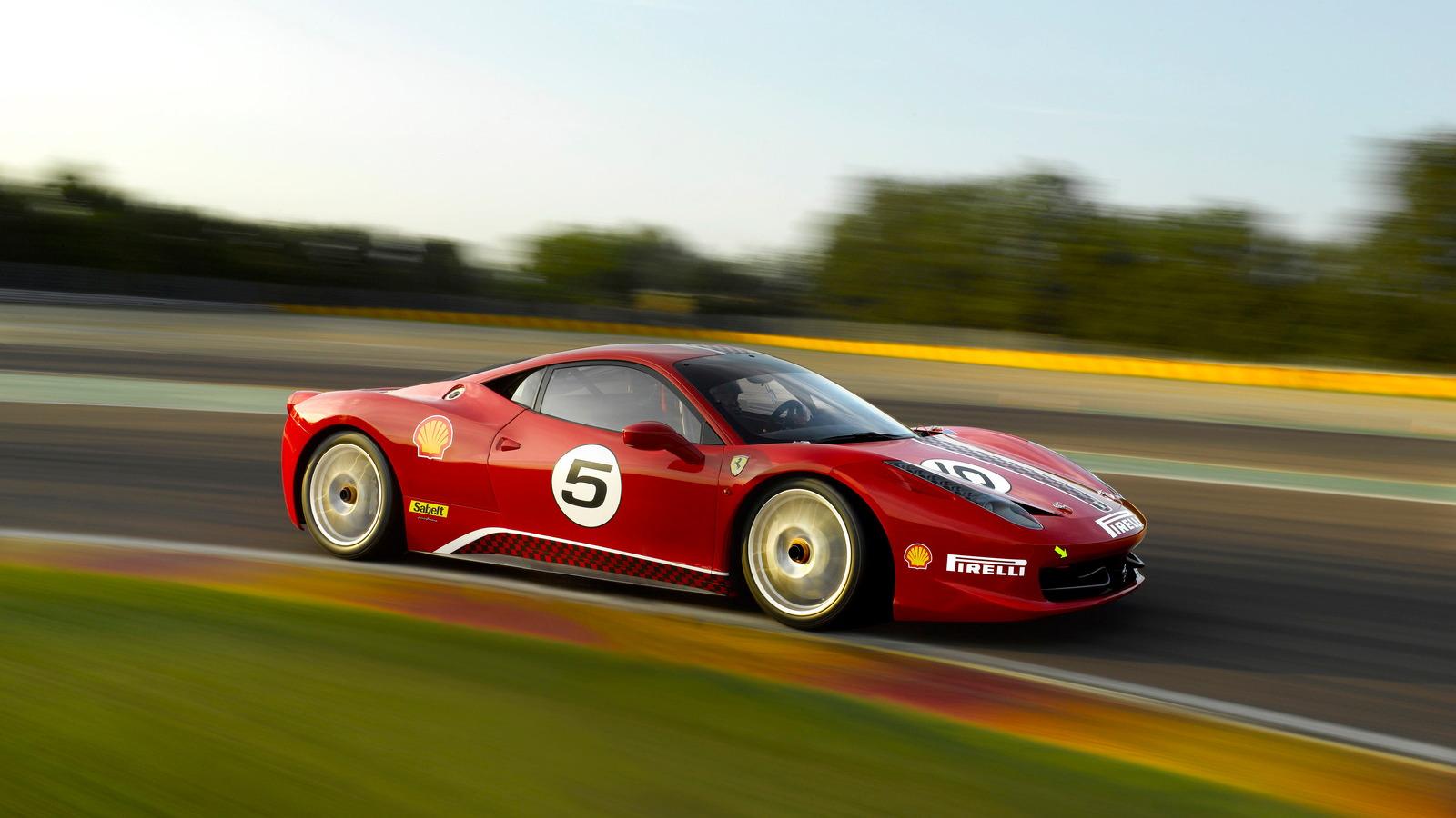 Ferrari 458 Challenge at Vallelunga