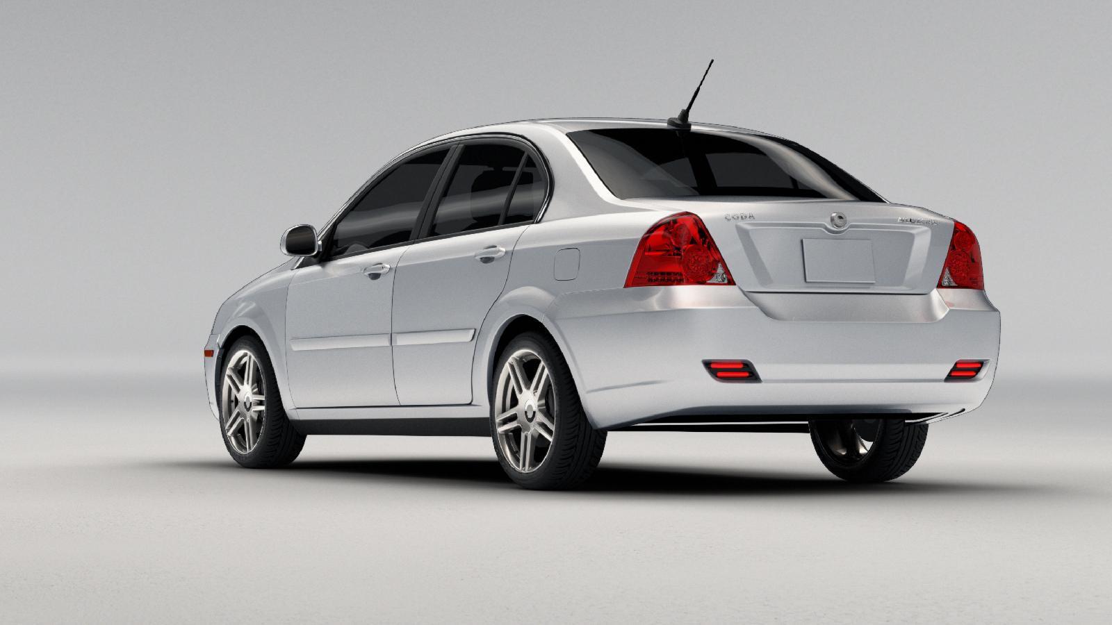 2011 Coda Sedan, final production version