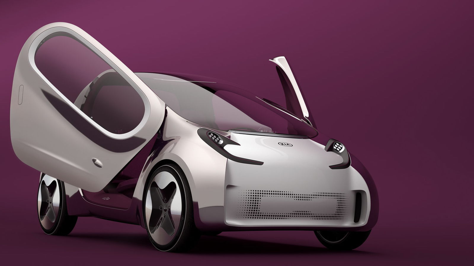 Kia Pop electric-car concept, 2010 Paris Motor Show