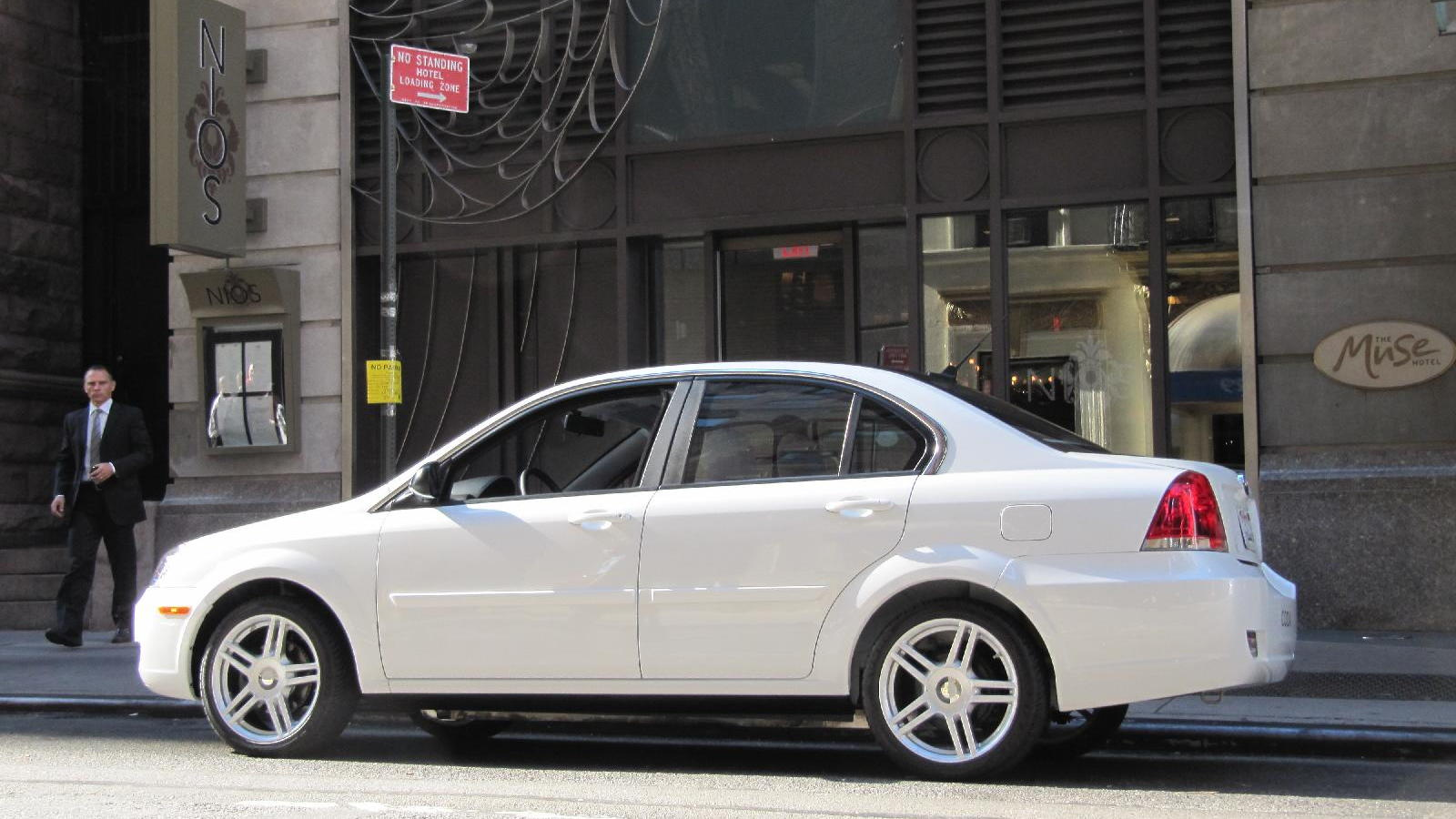 2011 Coda Sedan electric car, New York City, September 2010