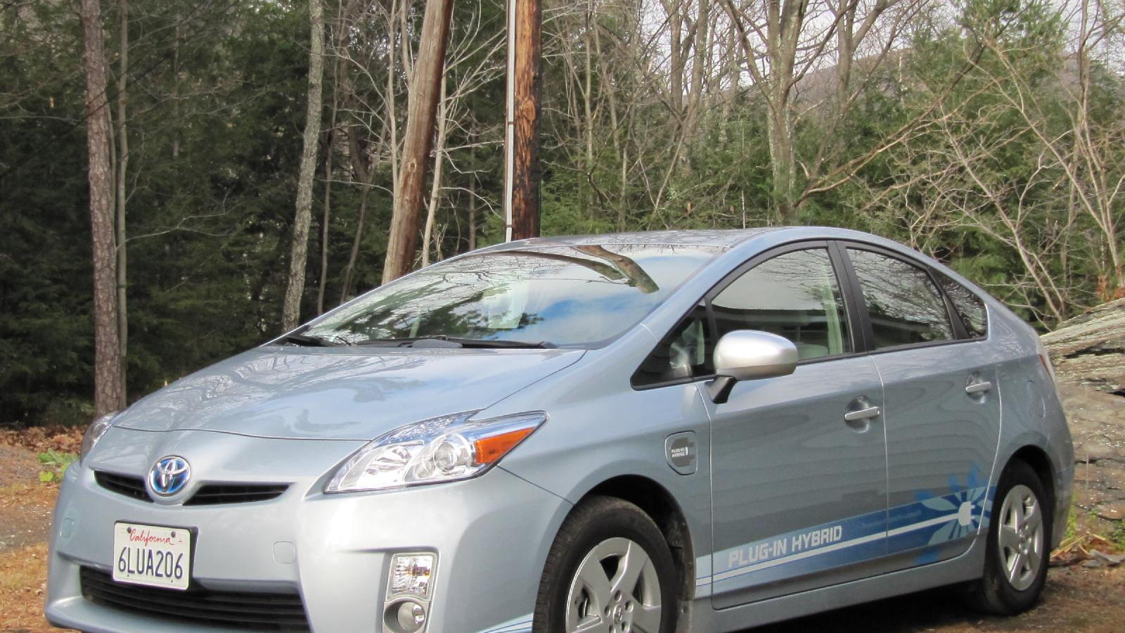 Toyota Prius Plug-In Hybrid prototype, tested in November 2010