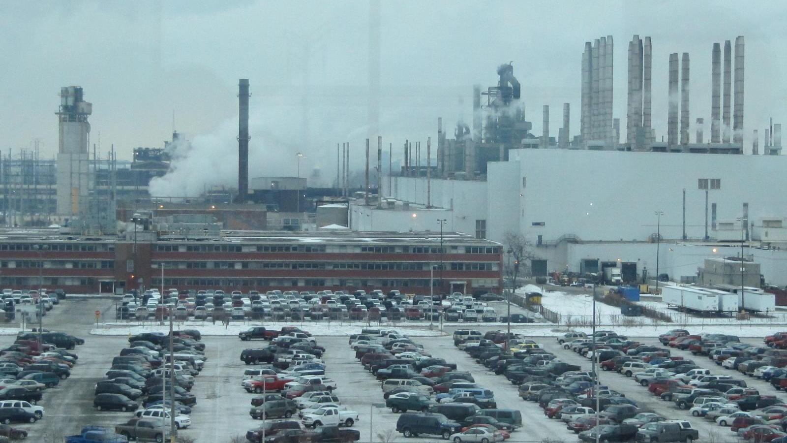 Ford Rouge Assembly Plant, Michigan, where Ford F-150 pickup trucks are built