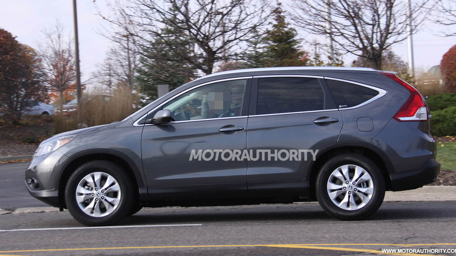 2012 Honda CR-V spy shots