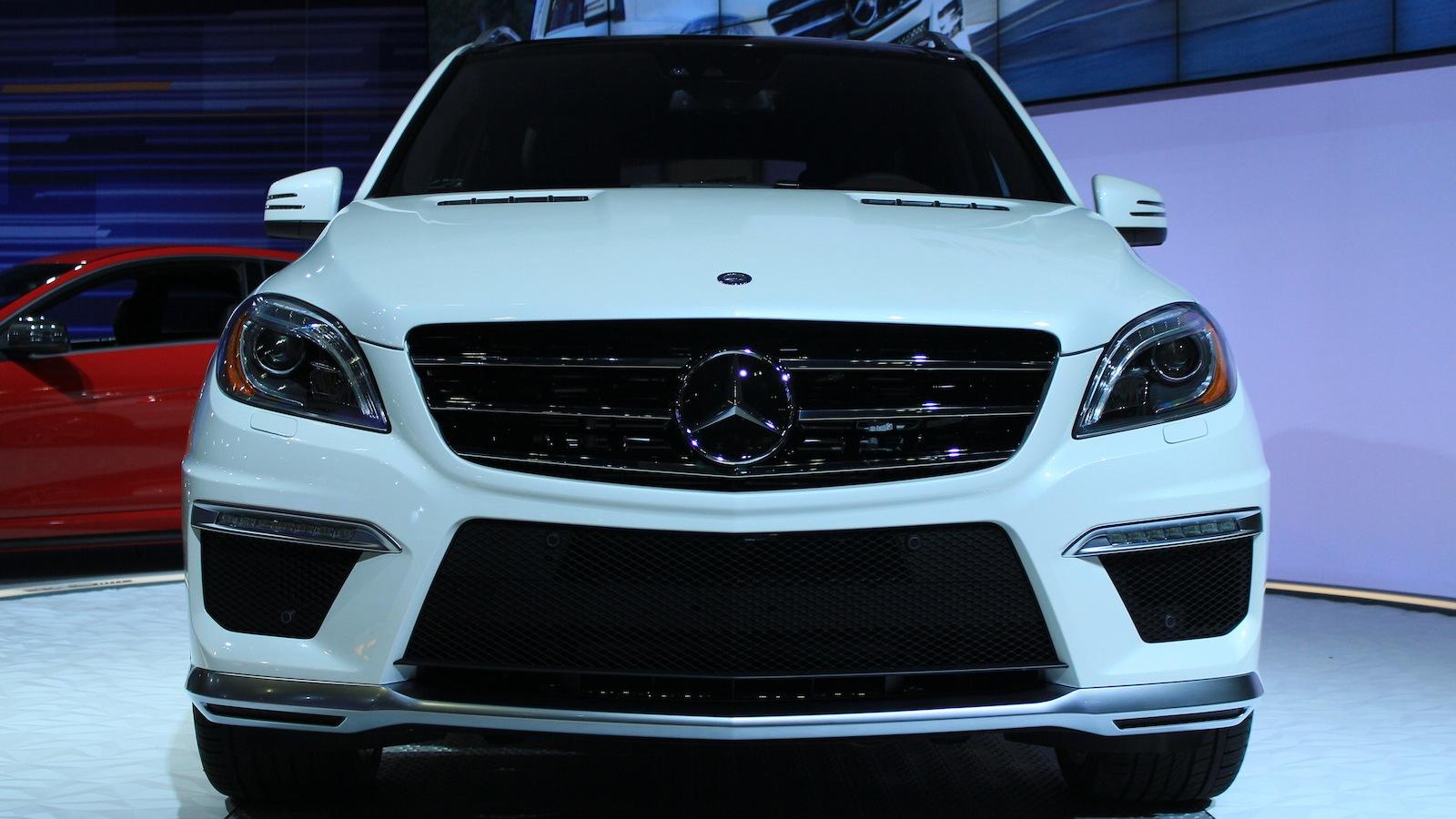 2012 Mercedes-Benz ML 63 AMG live photos