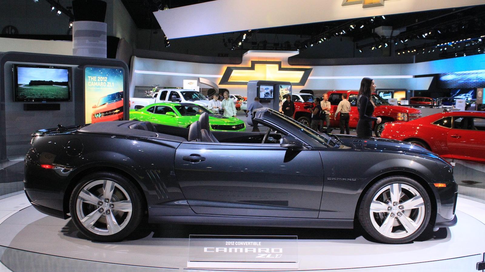2013 Chevrolet Camaro ZL1 Convertible live photos