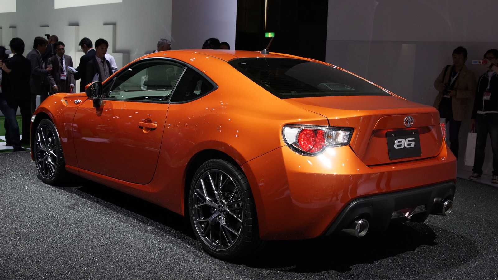 Toyota GT 86 live photos