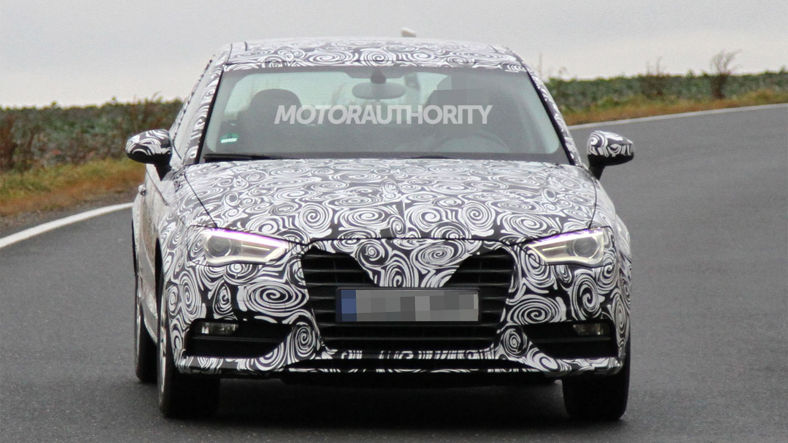 2013 Audi A3 Hatchback spy shots