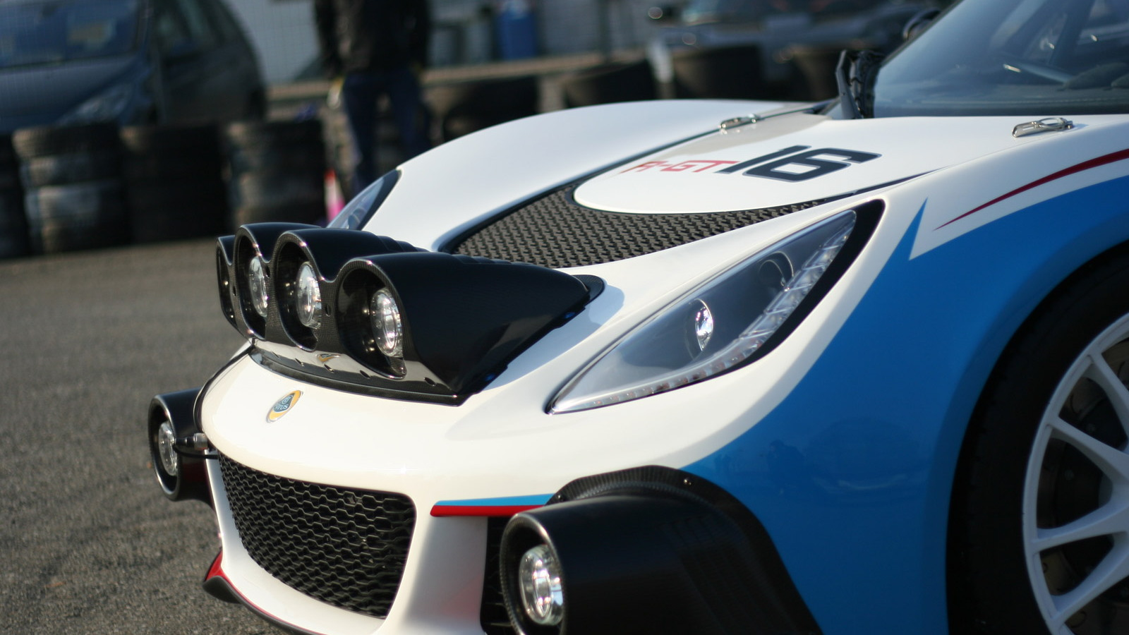 Lotus Exige R-GT rally car first shakedown