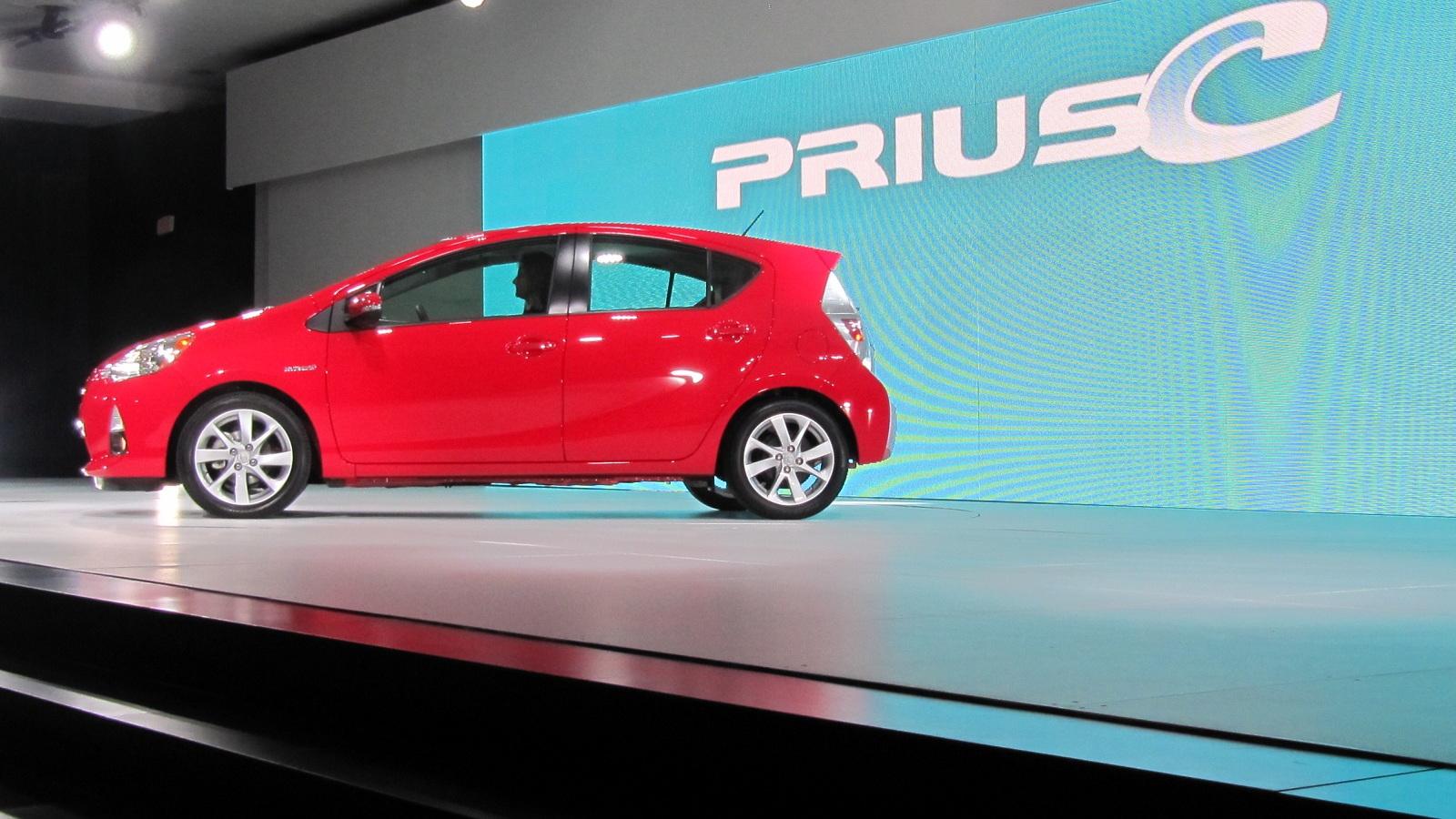 2012 Toyota Prius C launch, Detroit Auto Show