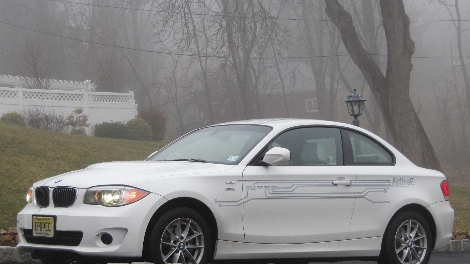 BMW ActiveE electric car, January 2012, New Jersey