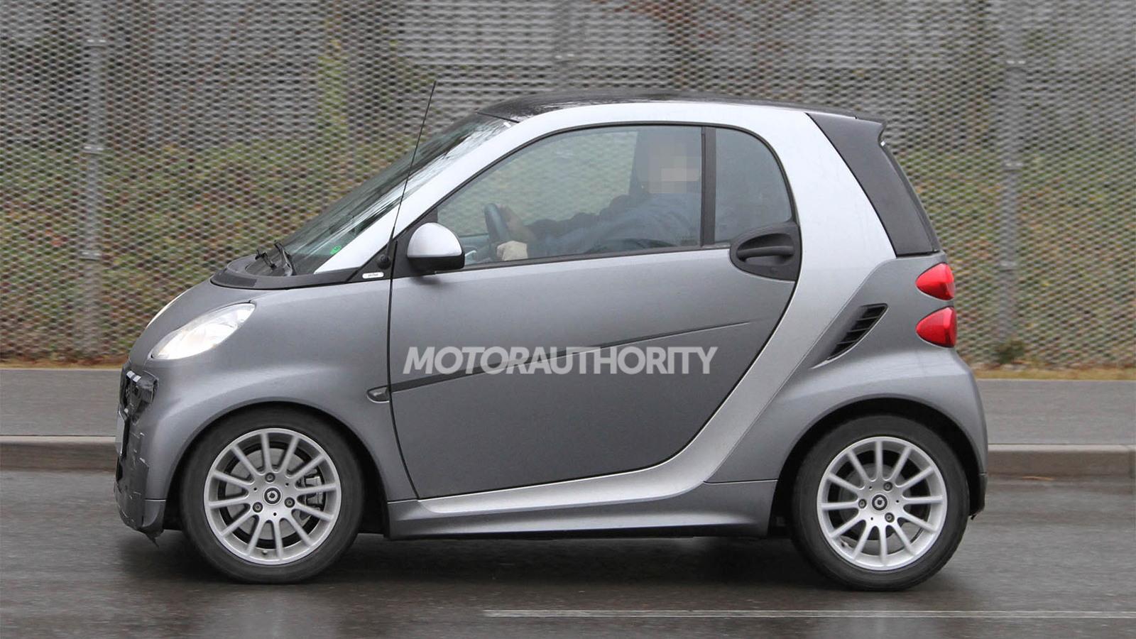 2013 Smart ForTwo facelift spy shots
