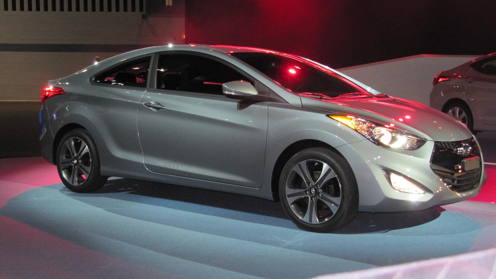 2013 Hyundai Elantra Coupe, Chicago Auto Show, Jan 2012