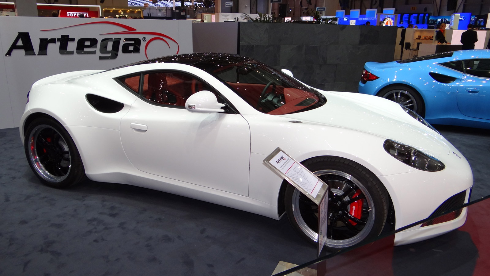 2012 Artega GT Concept featuring panoramic glass roof