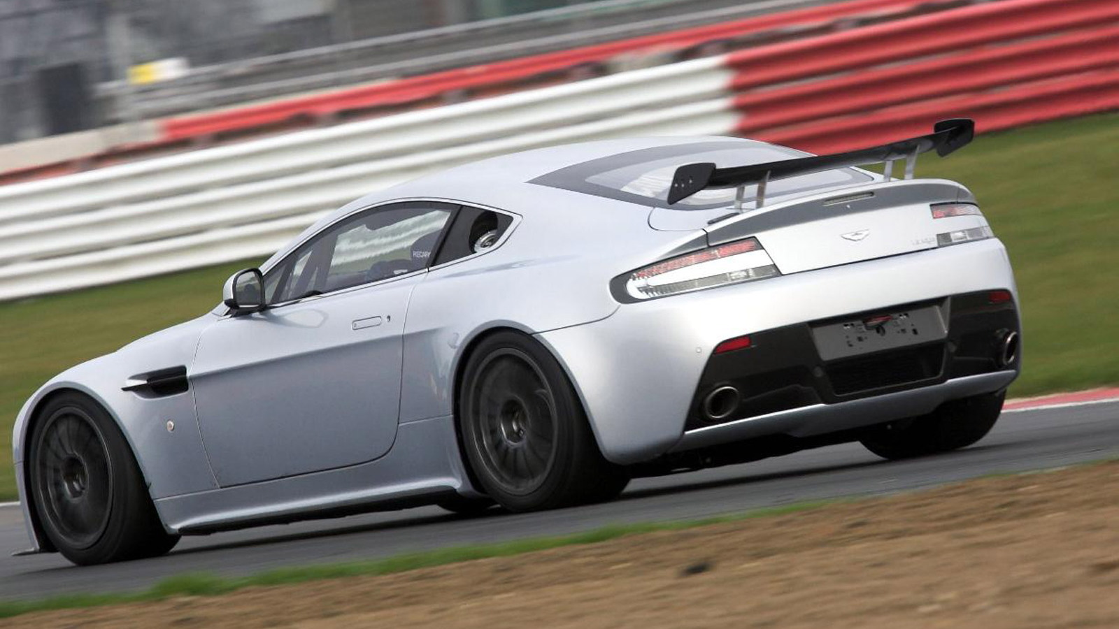 2012 Aston Martin Vantage GT4 race car