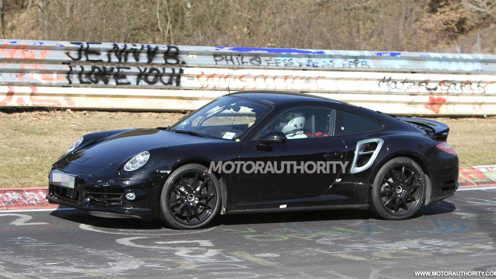 2014 Porsche 911 Turbo spy shots