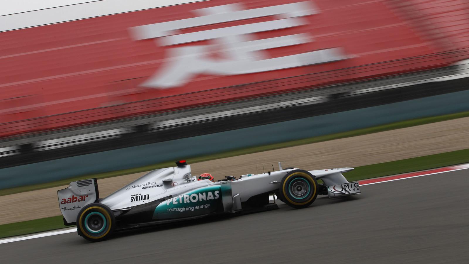 Mercedes AMG at the 2012 Formula 1 Chinese Grand Prix