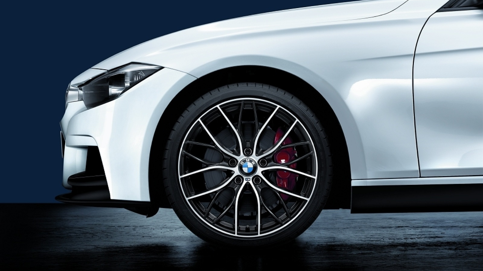 BMW's latest M Performance accessories for 3 and 5 Series sedans.