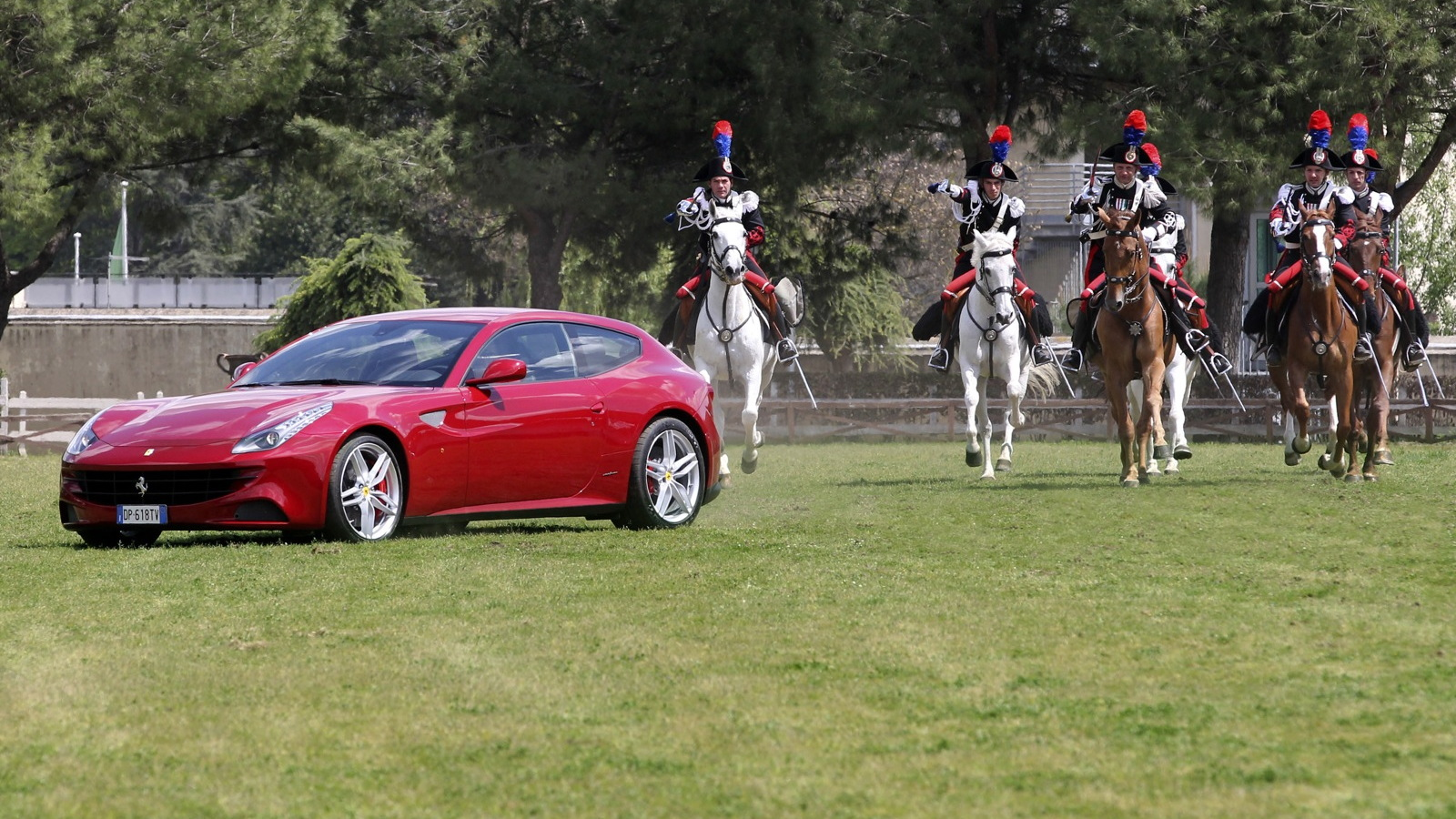 Ferrari salutes Queen Elizabeth II on her Diamond Jubilee.
