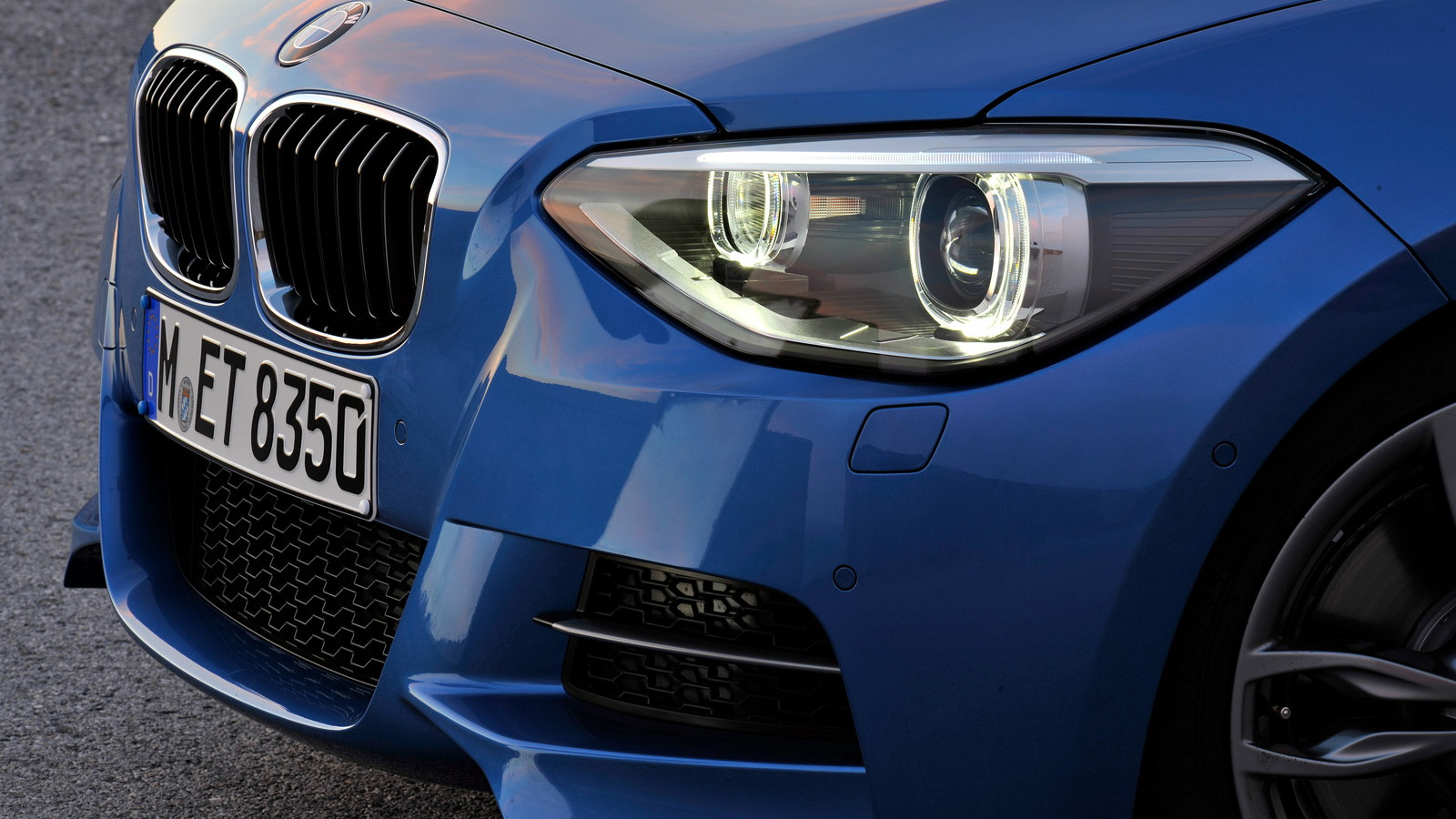 2012 BMW M135i Hatchback (three-door)