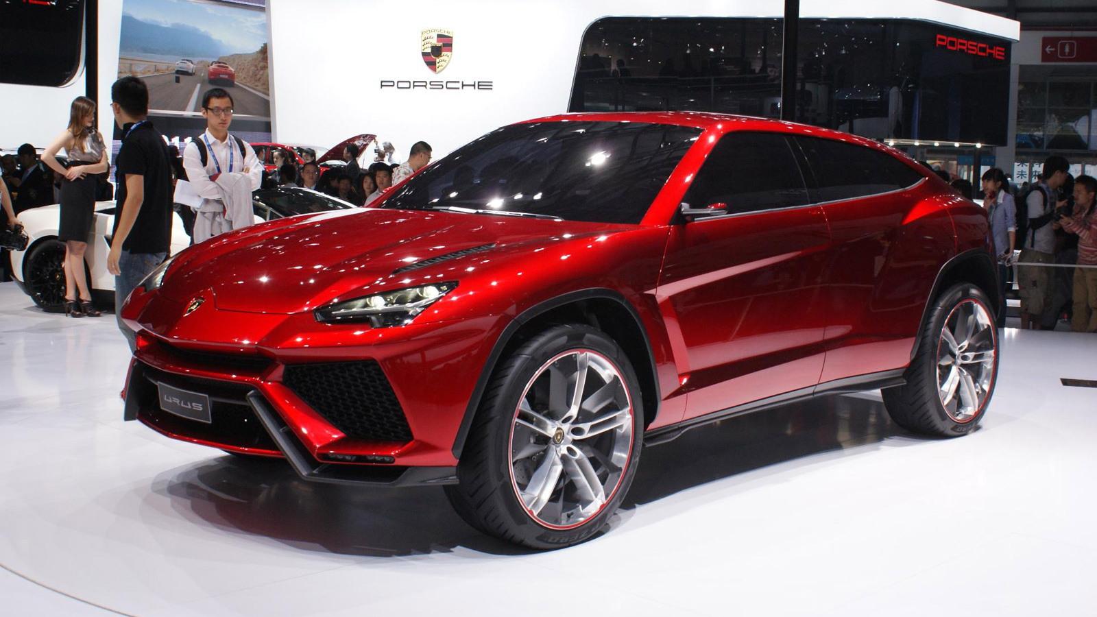 Lamborghini Urus concept, 2012 Beijing auto show