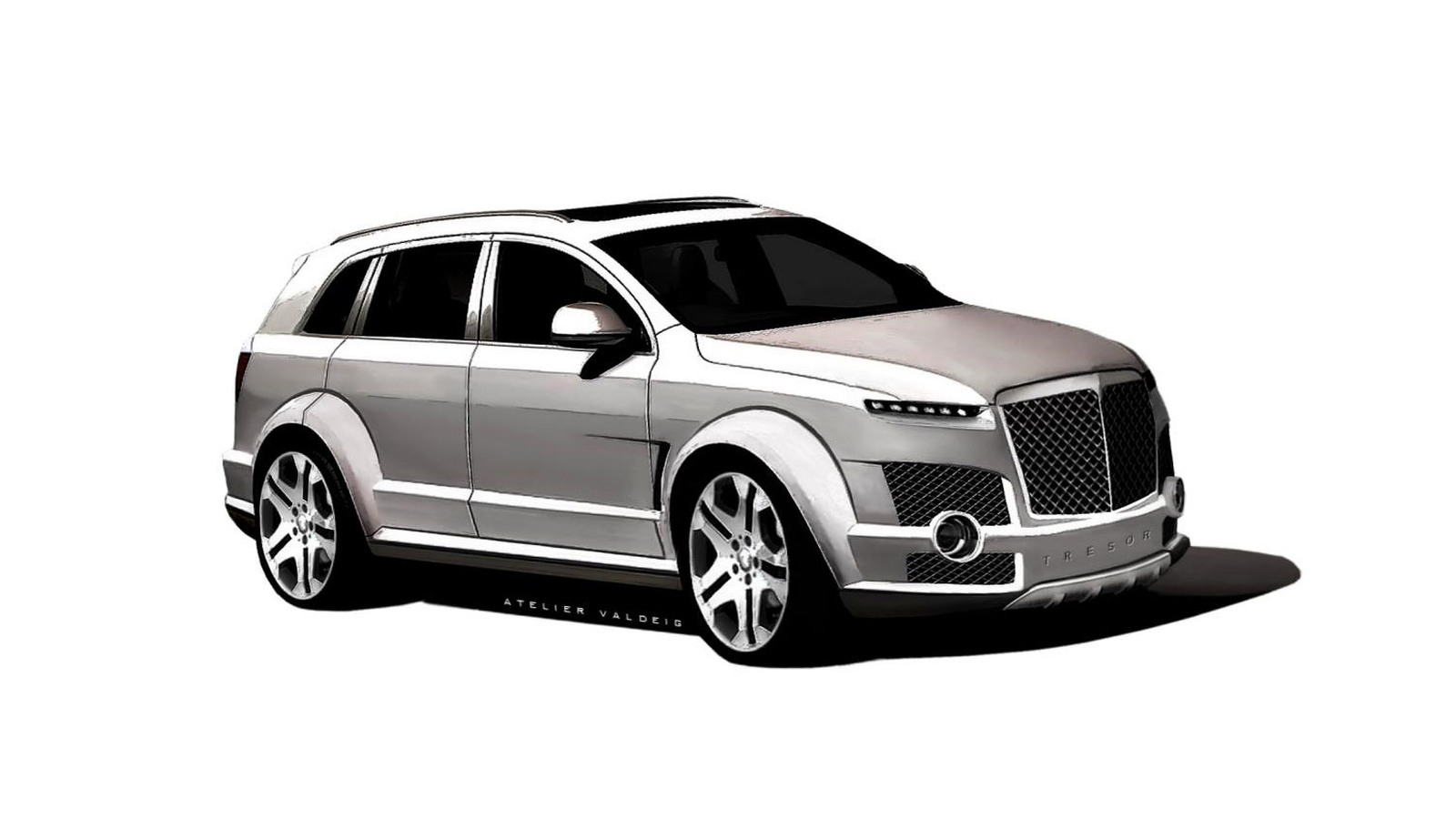 Atelier Valdeig Tresor SUV renderings