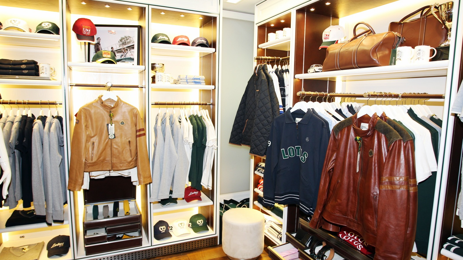 Lotus Originals' first retail location, in Monaco
