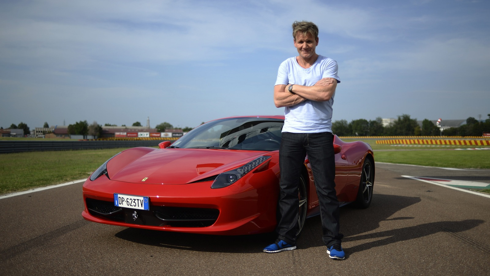 Gordon Ramsay tours Ferrari