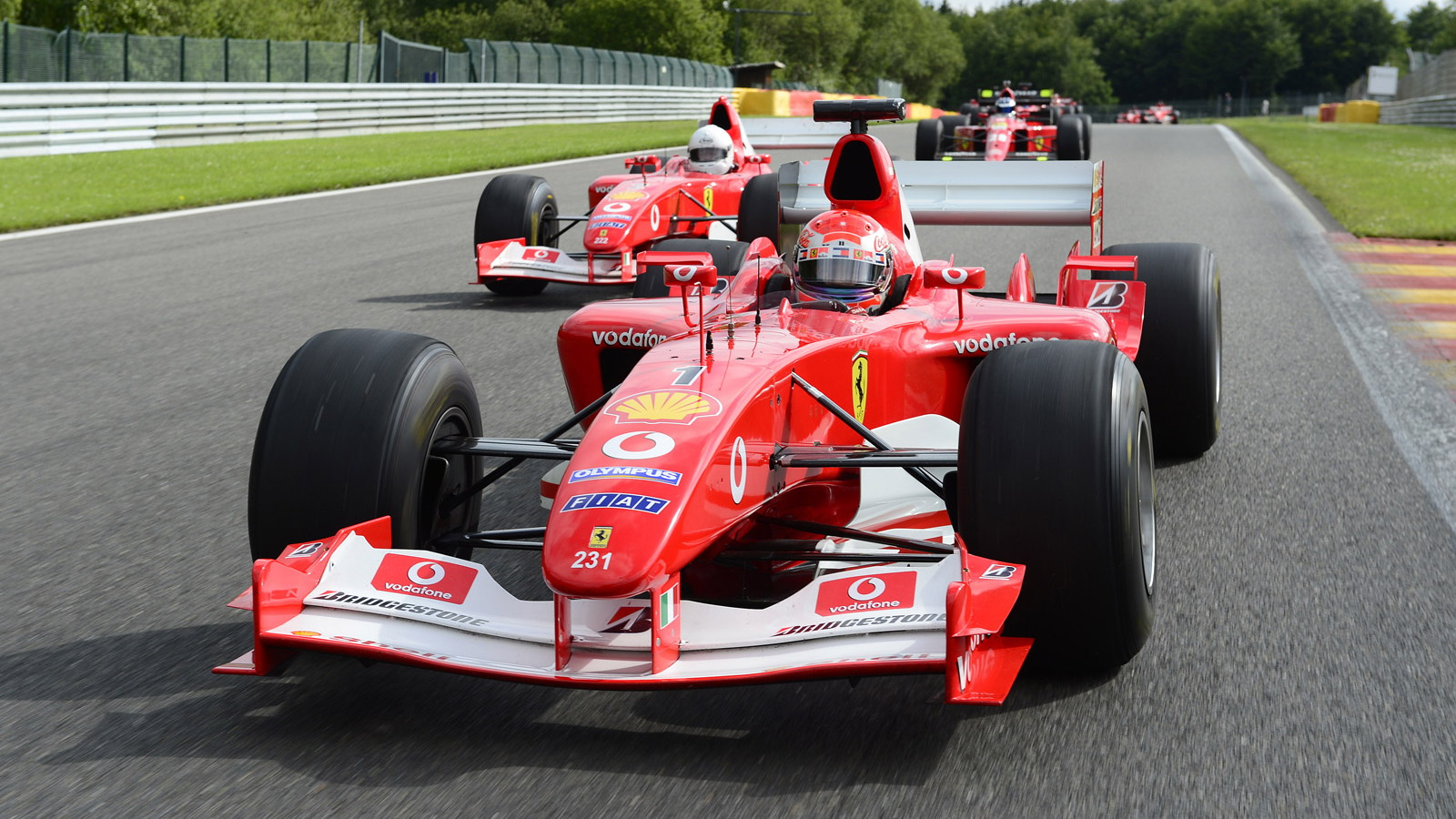 Ferrari F1 Clienti and XX Program at Spa Francorchamps, July 2012