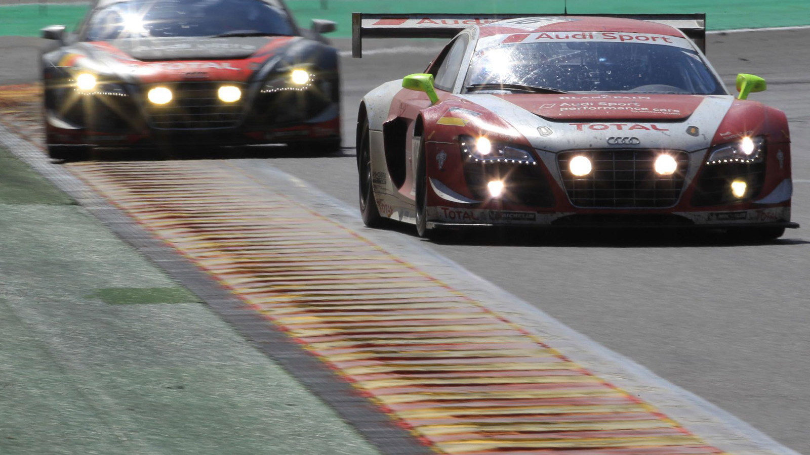 Audi at the 2012 Spa 24 Hours endurance race
