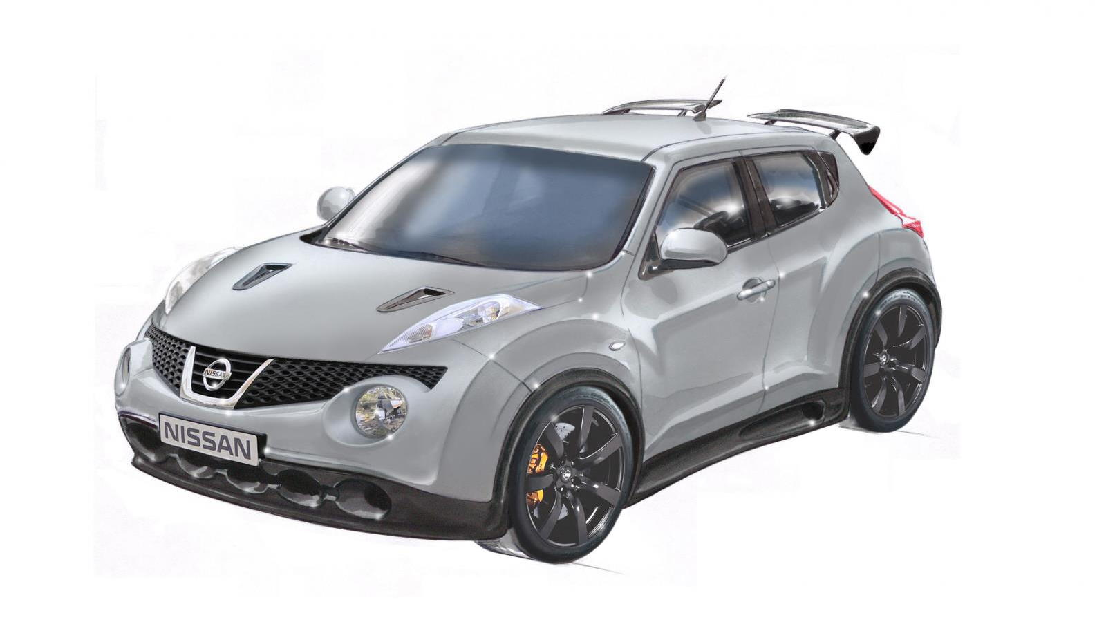Production Nissan Juke-R sketches