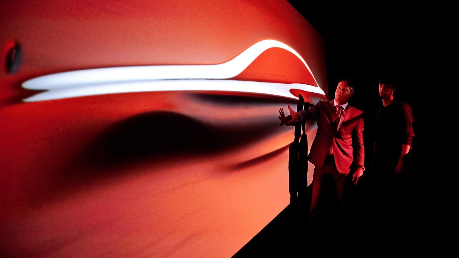 Mercedes-Benz 'Aesthetics S' sculpture previews new 2014 S Class