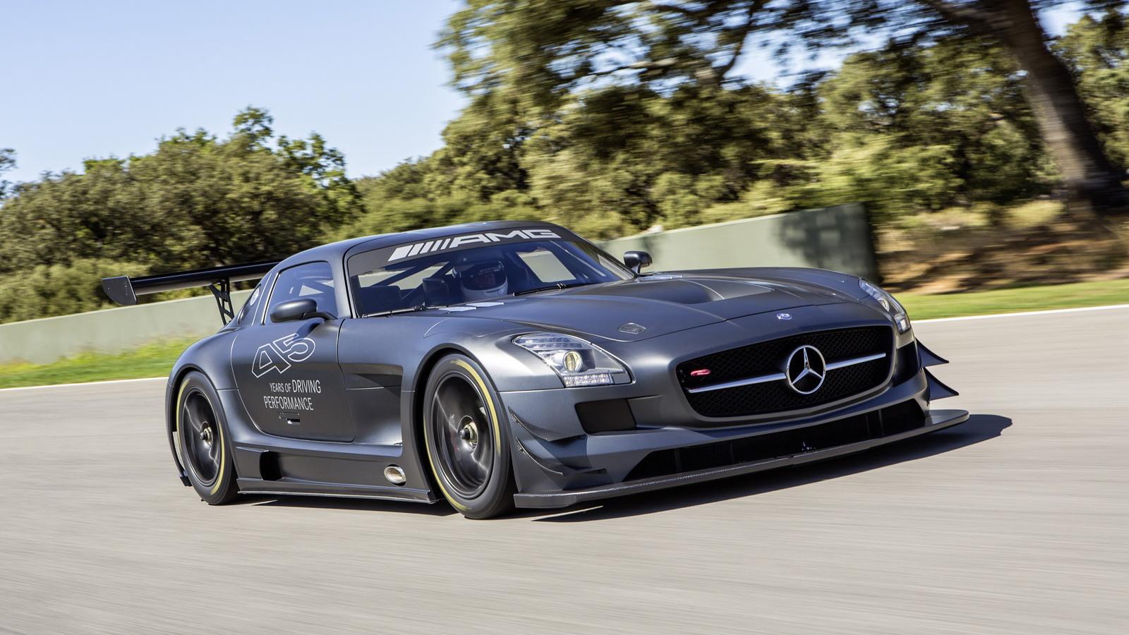 Mercedes-Benz SLS AMG GT3 45th Anniversary race car
