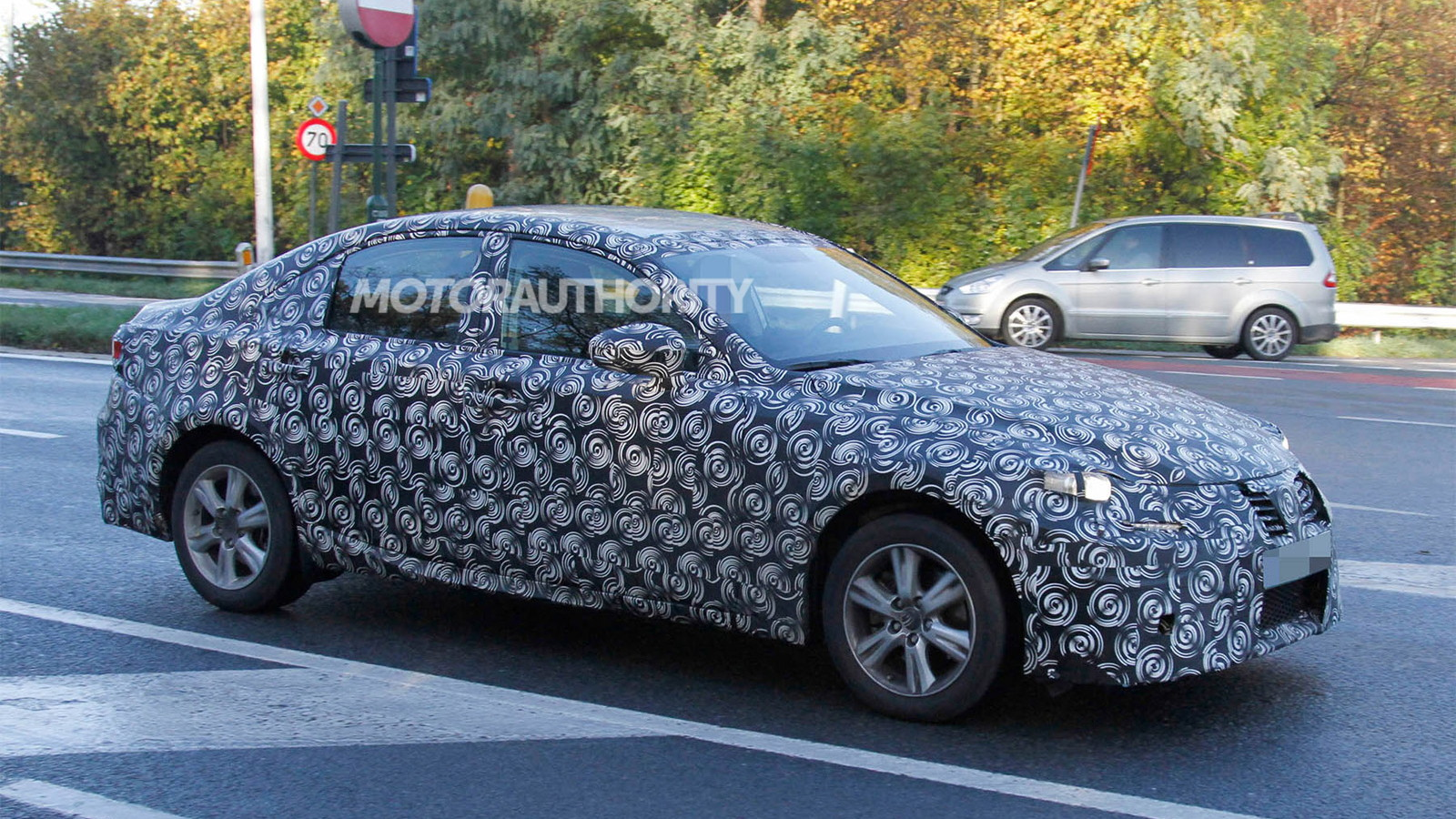 2014 Lexus IS spy shots