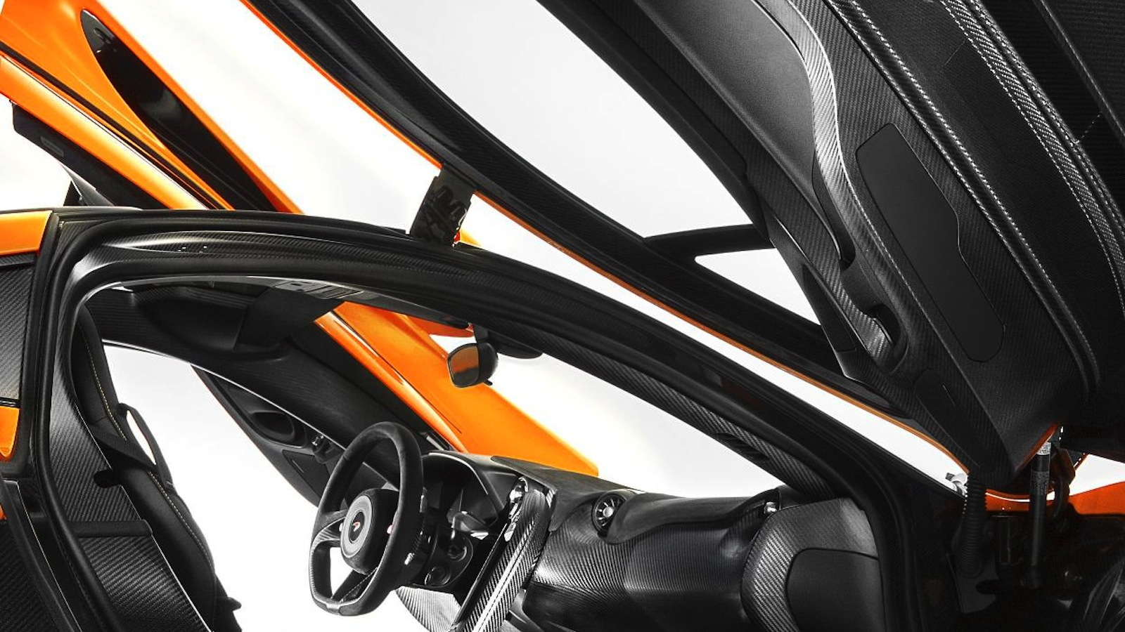 The McLaren P1's interior - image: McLaren